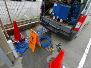 小型 排水管洗浄