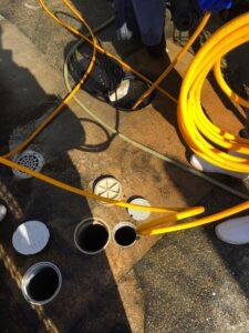 共用部 排水管清掃
